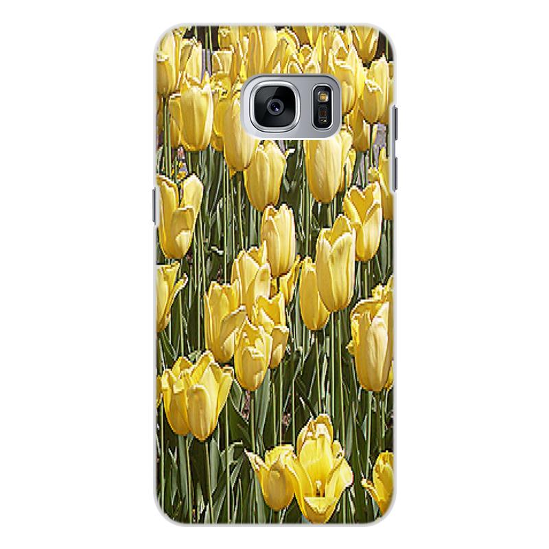Фото - Чехол для Samsung Galaxy S7 Edge, объёмная печать Printio Солнечный тюльпан. чехол для samsung galaxy s7 edge объёмная печать printio солнечный тюльпан