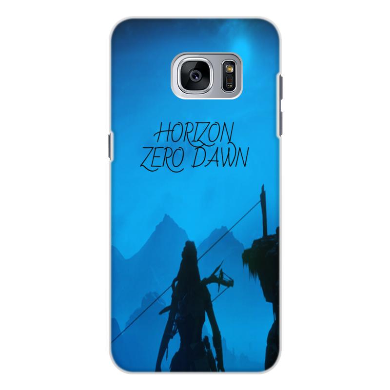 Чехол для Samsung Galaxy S7 Edge, объёмная печать Printio Horizon zero dawn чехол для samsung galaxy s7 edge объёмная печать printio цифры