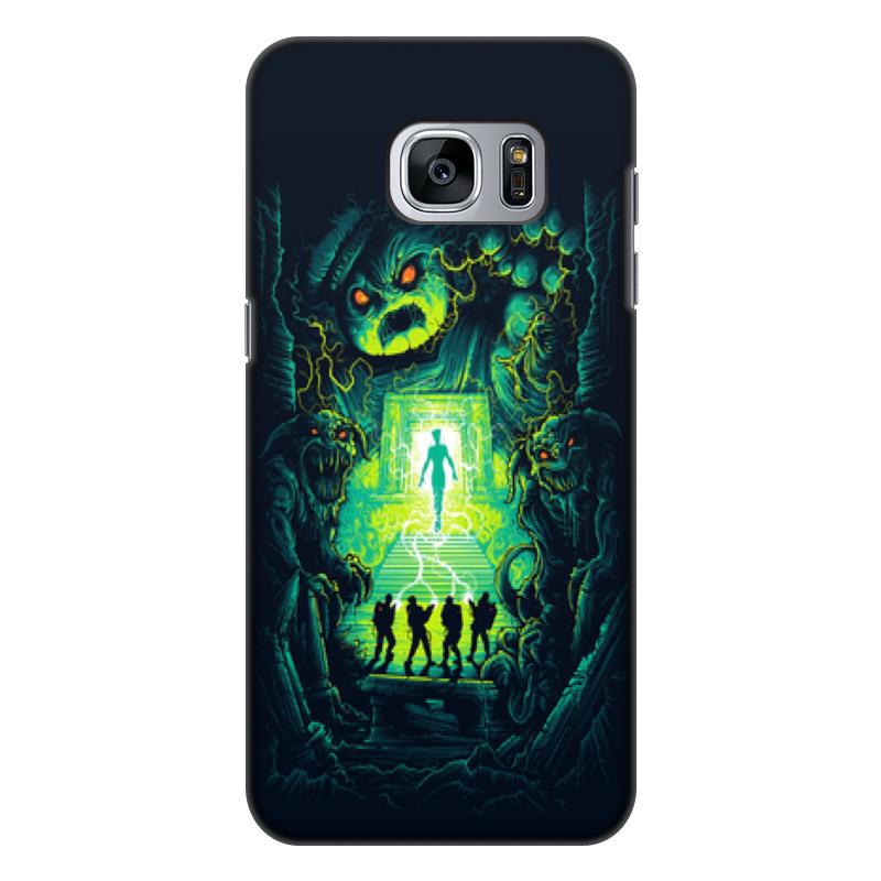 Чехол для Samsung Galaxy S7 Edge, объёмная печать Printio Ghost busters