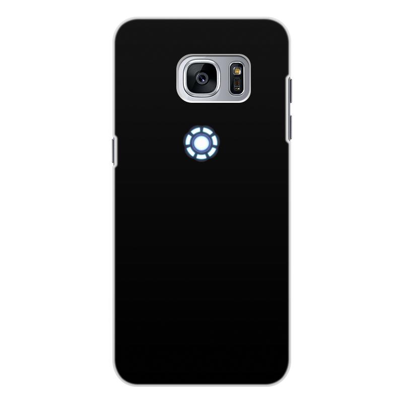 Чехол для Samsung Galaxy S7 Edge, объёмная печать Printio Железный человек чехол для samsung galaxy s6 edge объёмная печать printio железный человек