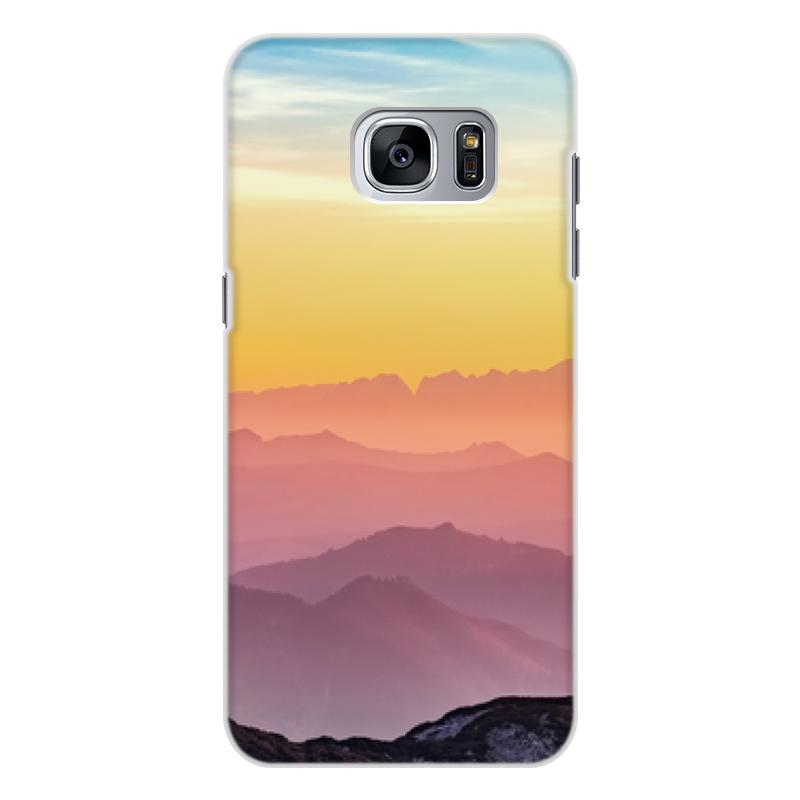 Чехол для Samsung Galaxy S7 Edge, объёмная печать Printio Без названия чехол для samsung galaxy s7 edge объёмная печать printio путь воина