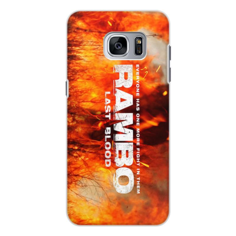 Printio Rambo чехол для samsung galaxy s7 edge объёмная печать printio сталкер