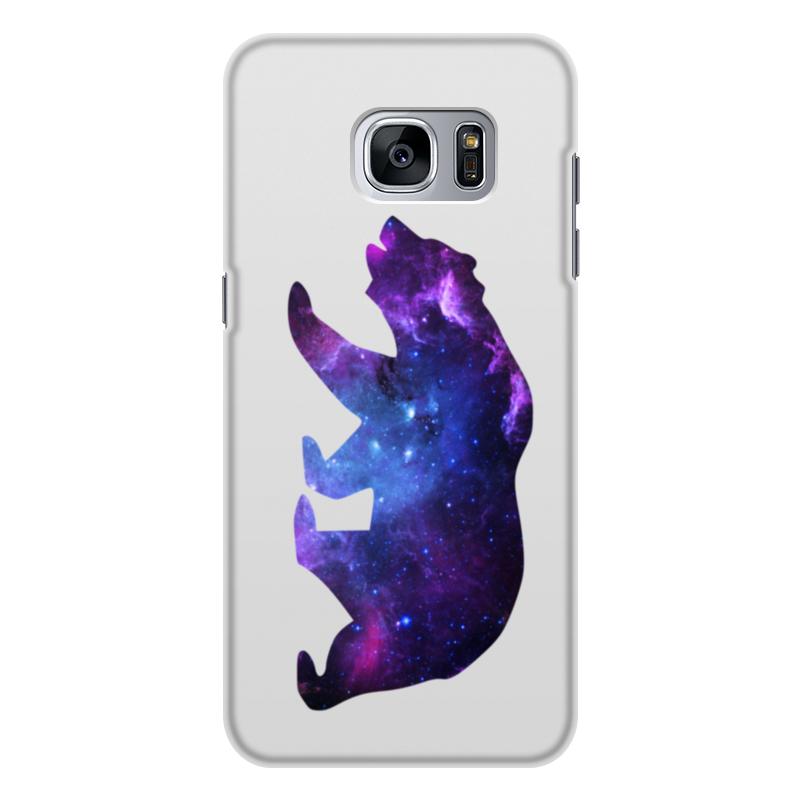 Чехол для Samsung Galaxy S7 Edge, объёмная печать Printio Space animals чехол для samsung galaxy s7 edge объёмная печать printio love space