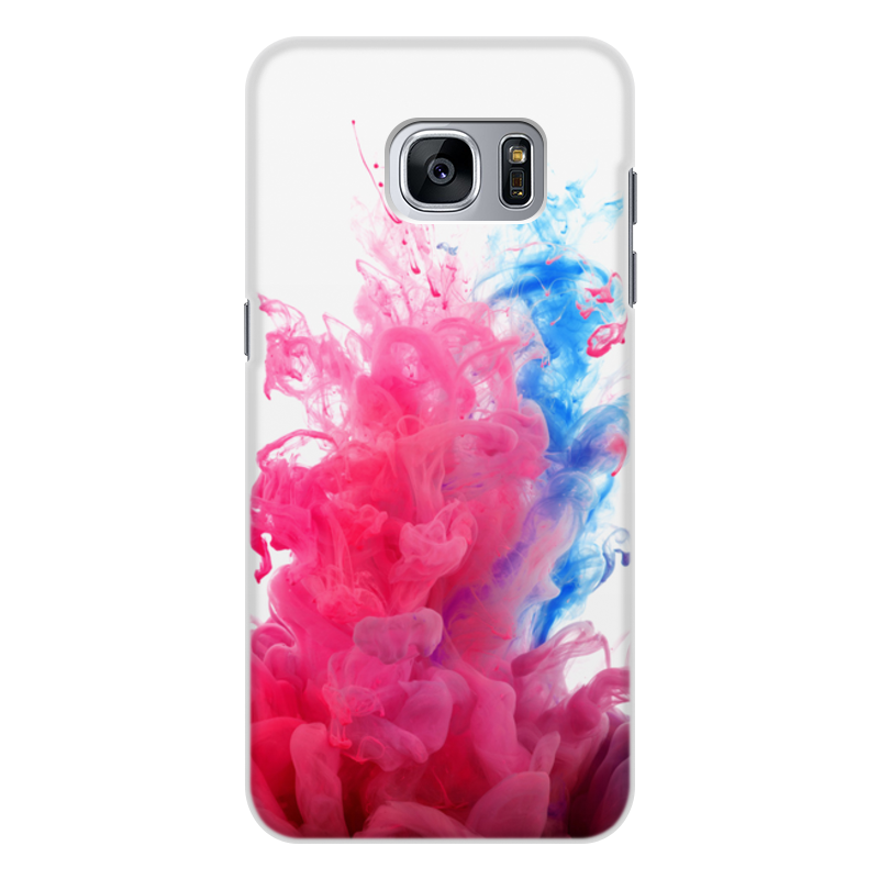 цена на Чехол для Samsung Galaxy S7 Edge, объёмная печать Printio Дым дым