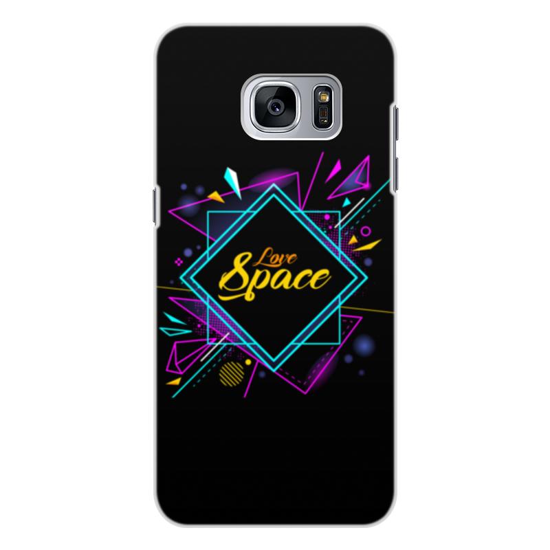 Чехол для Samsung Galaxy S7 Edge, объёмная печать Printio Love space чехол для samsung galaxy s7 edge объёмная печать printio love space