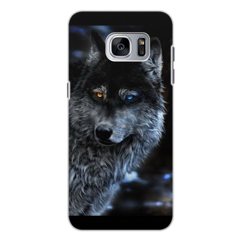 Printio Волки фэнтези. седой волк чехол для samsung galaxy s7 edge объёмная печать printio кошки фэнтези