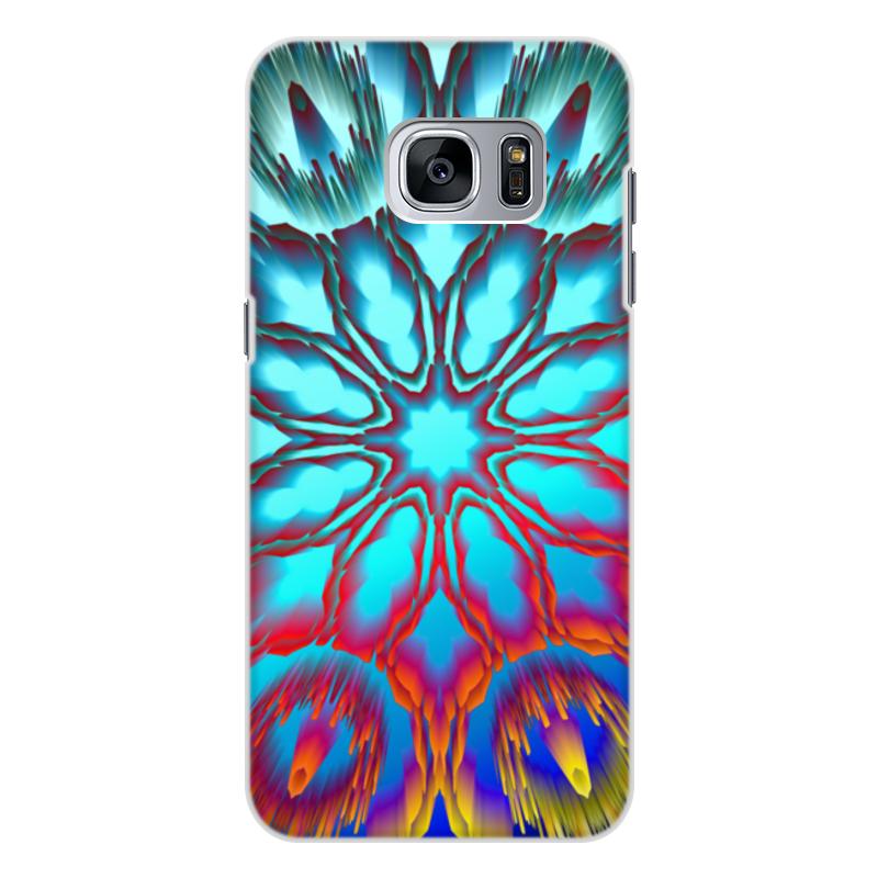 Чехол для Samsung Galaxy S7 Edge, объёмная печать Printio Нирвана printio чехол для samsung galaxy s7 edge объёмная печать