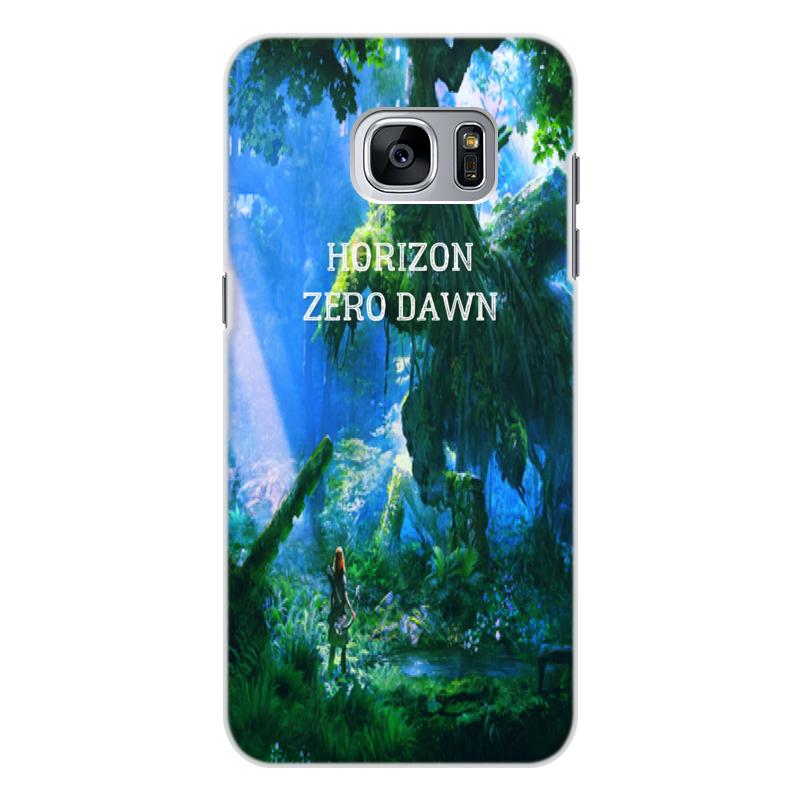 Чехол для Samsung Galaxy S7 Edge, объёмная печать Printio Horizon zero dawn смартфон samsung galaxy s7