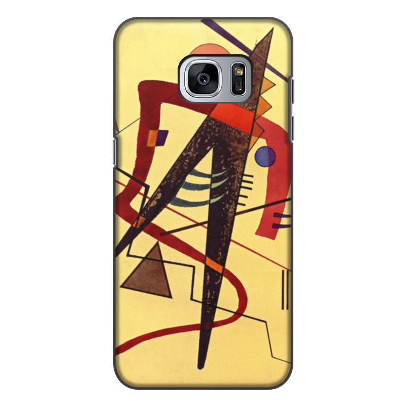 Чехол для Samsung Galaxy S7 Edge, объёмная печать Printio Тепло (пауль клее) чехол для samsung galaxy s5 printio лесные ведьмы пауль клее