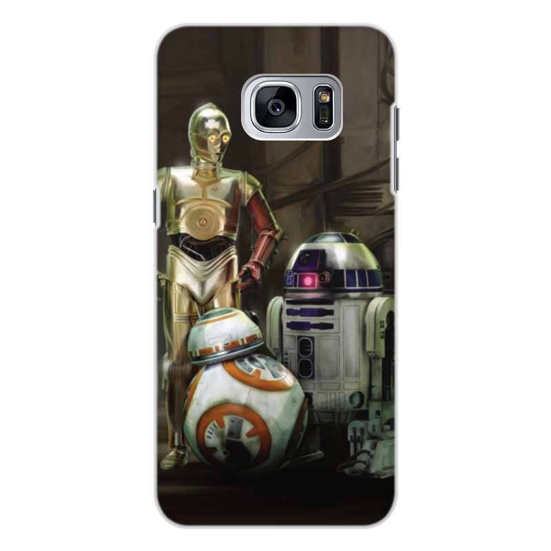 Чехол для Samsung Galaxy S7 Edge, объёмная печать Printio Star wars glueskin для galaxy s7 edge dark brown croco s7e 15