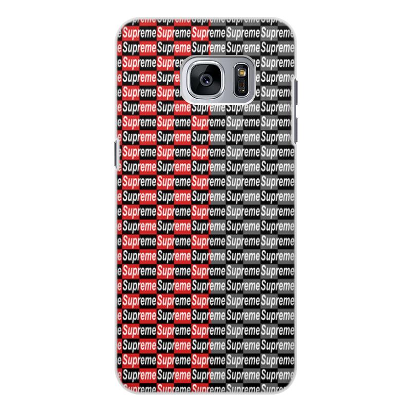 Чехол для Samsung Galaxy S7 Edge, объёмная печать Printio Supreme чехол для samsung galaxy s7 edge объёмная печать printio love space