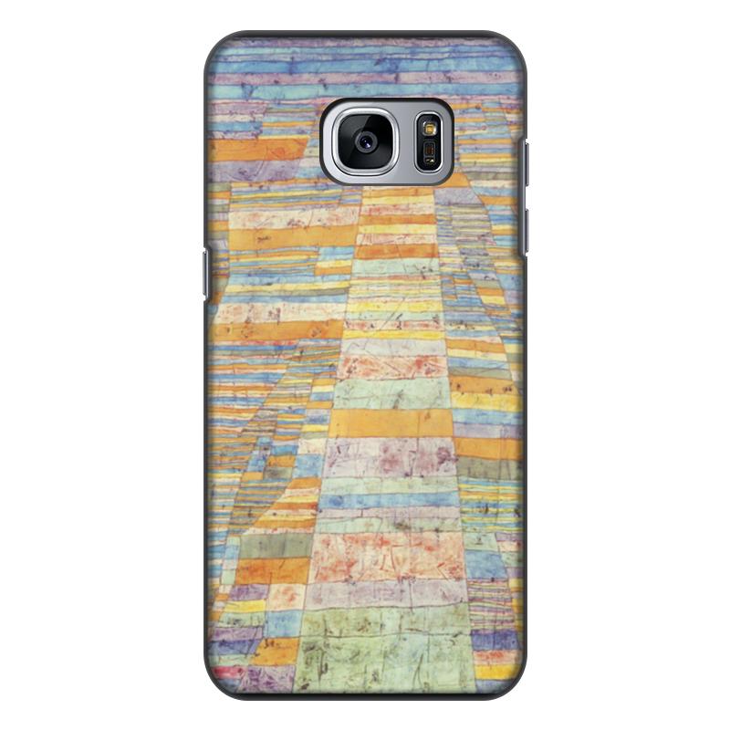 Чехол для Samsung Galaxy S7 Edge, объёмная печать Printio и переулки (пауль клее)
