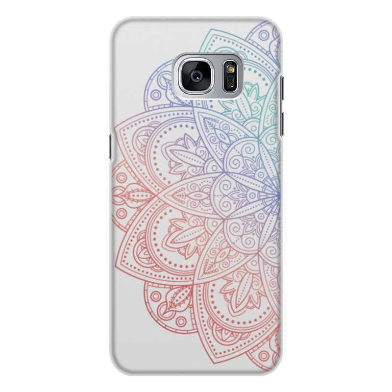 Чехол для Samsung Galaxy S7 Edge, объёмная печать Printio Мандала чехол для samsung galaxy s7 edge объёмная печать printio путь воина