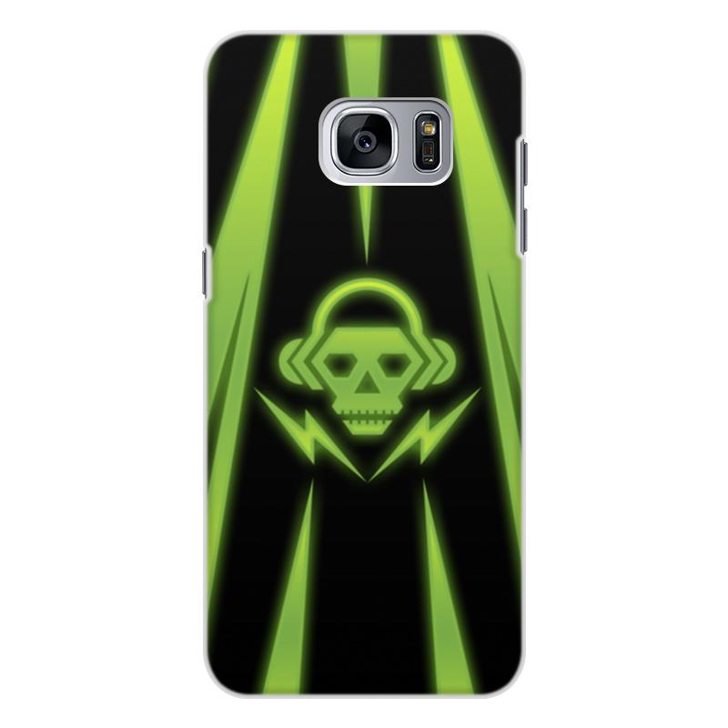Чехол для Samsung Galaxy S7 Edge, объёмная печать Printio Skull чехол для samsung galaxy s5 printio santa muerte skull