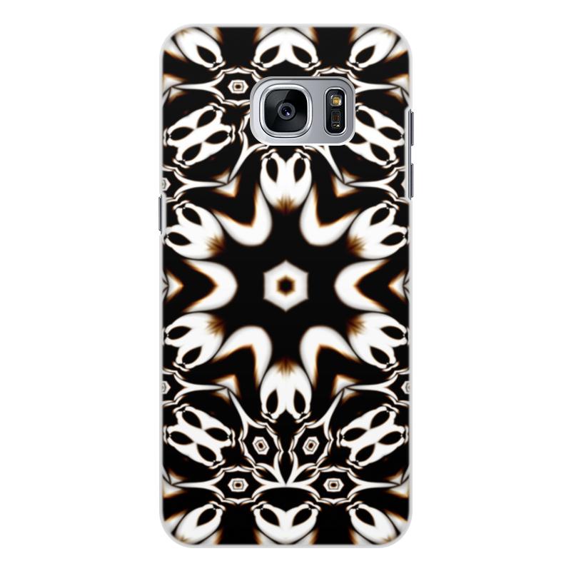 Чехол для Samsung Galaxy S7 Edge, объёмная печать Printio Кофейный чехол для samsung galaxy s7 edge объёмная печать printio путь воина