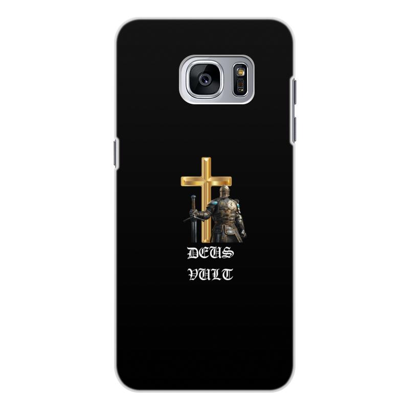 Чехол для Samsung Galaxy S7 Edge, объёмная печать Printio Deus vult. крестоносцы