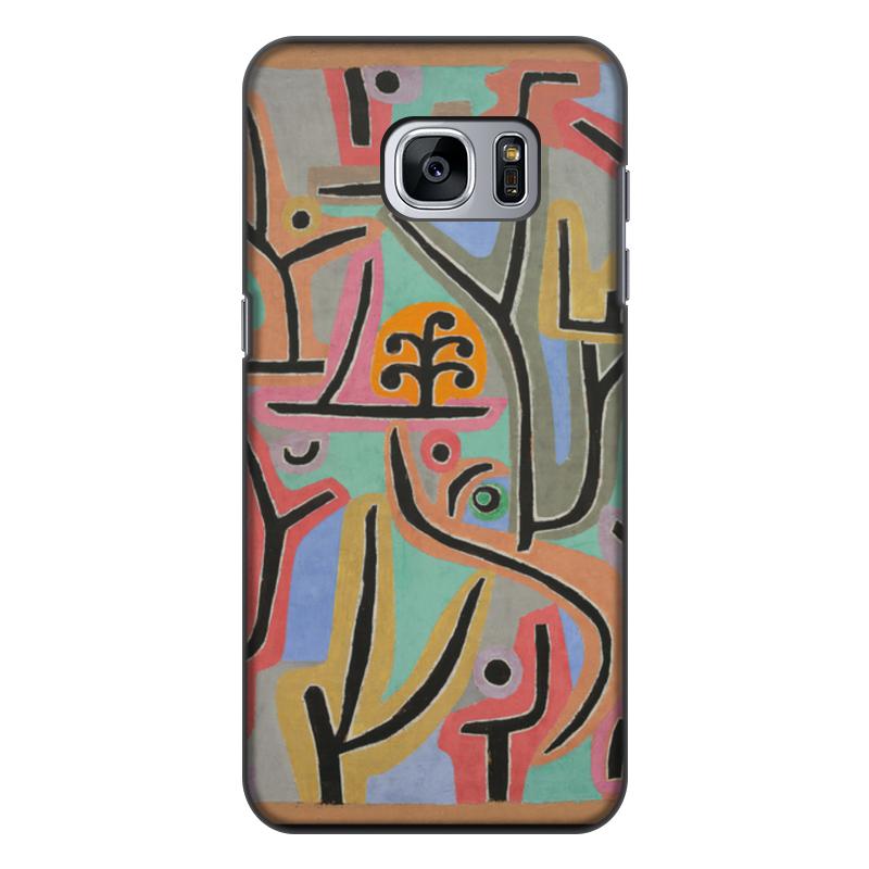 Фото - Чехол для Samsung Galaxy S7 Edge, объёмная печать Printio Парк возле лю (пауль клее) конструктор nd play автомобильный парк 265 608