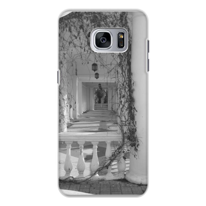 Чехол для Samsung Galaxy S7 Edge, объёмная печать Printio Осень кейс для назначение ssamsung galaxy кейс для samsung galaxy ультратонкий кейс на заднюю панель сплошной цвет мягкий тпу для s7 edge s7