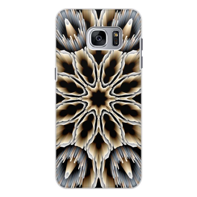 Чехол для Samsung Galaxy S7 Edge, объёмная печать Printio Мембрана кейс для назначение ssamsung galaxy кейс для samsung galaxy ультратонкий кейс на заднюю панель сплошной цвет мягкий тпу для s7 edge s7