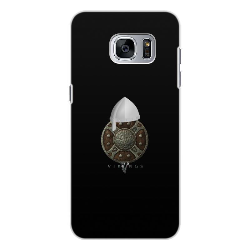 Чехол для Samsung Galaxy S7 Edge, объёмная печать Printio Викинги. vikings чехол для samsung galaxy s7 edge объёмная печать printio пришелец ufo