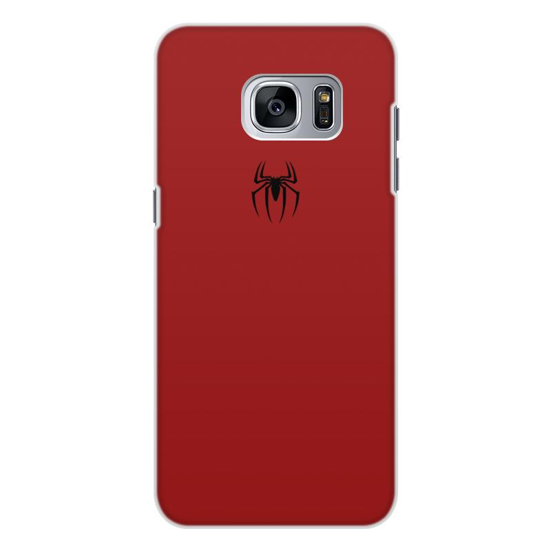 Чехол для Samsung Galaxy S7 Edge, объёмная печать Printio Человек-паук чехол для samsung galaxy s7 edge объёмная печать printio новогодний заяц