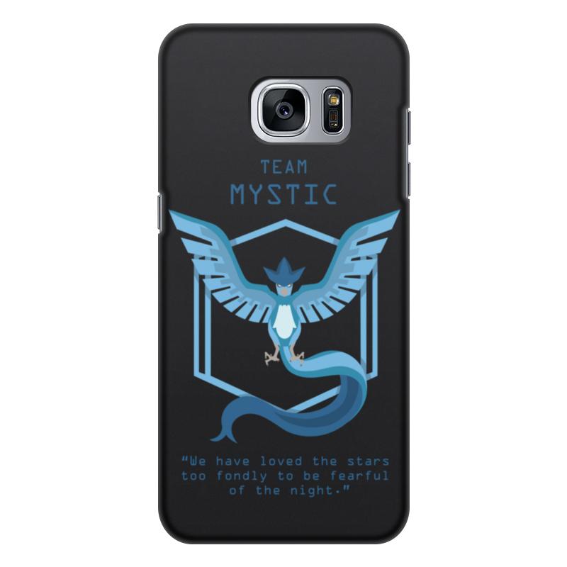 Чехол для Samsung Galaxy S7 Edge, объёмная печать Printio Team mystic