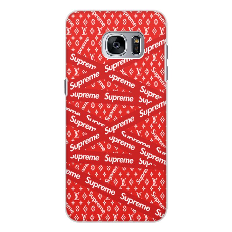 Чехол для Samsung Galaxy S7 Edge, объёмная печать Printio Supreme