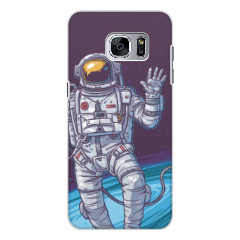 Чехол для Samsung Galaxy S7 Edge, объёмная печать Printio Space чехол для samsung galaxy s7 edge объёмная печать printio love space