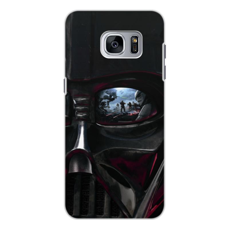 Чехол для Samsung Galaxy S7 Edge, объёмная печать Printio Звездные войны