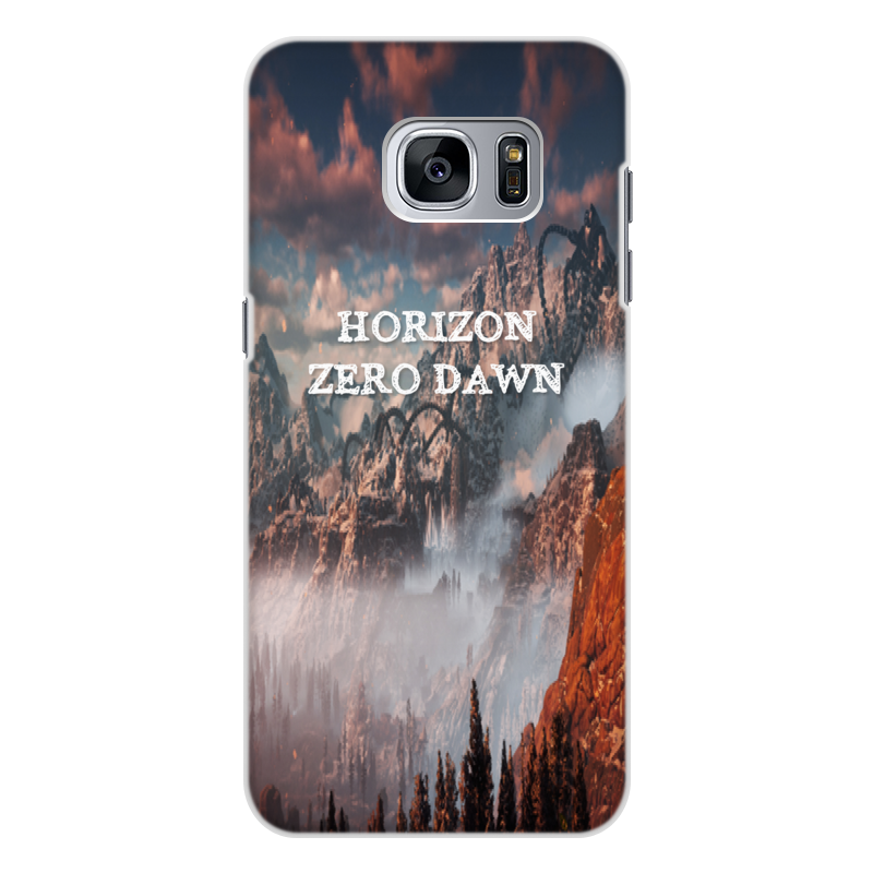 Чехол для Samsung Galaxy S7 Edge, объёмная печать Printio Horizon zero dawn printio чехол для samsung galaxy s7 силиконовый