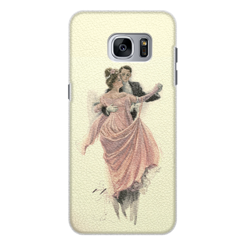 Чехол для Samsung Galaxy S7 Edge, объёмная печать Printio День святого валентина промо коллекция melkco кожаный чехол для samsung galaxy style duos i8262d красный весенний букет