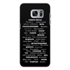 """Чехол для Samsung Galaxy S7 Edge, объёмная печать """"Манта для настоящих мужчин (черный вариант)"""" - праздник, мужчина, подарок, пожелания, мантра"""