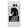"""Чехол для Samsung Galaxy S7 Edge, объёмная печать """"Dark Horse Comics"""" - комиксы, dark horse comics, тёмная лошадка"""