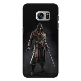"""Чехол для Samsung Galaxy S7 Edge, объёмная печать """"Assassins Creed (Rogue)"""" - игра, assassins creed, воин, rogue, изгой"""