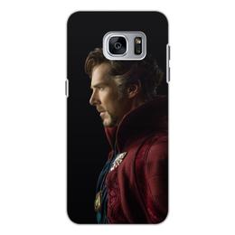 """Чехол для Samsung Galaxy S7 Edge, объёмная печать """"Доктор Стрэндж"""" - marvel, мстители, марвел, доктор стрэндж, doctor strange"""