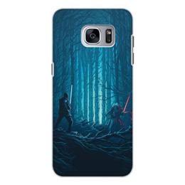 """Чехол для Samsung Galaxy S7 Edge, объёмная печать """"Звездные войны"""" - кино, фантастика, star wars, звездные войны, дарт вейдер"""