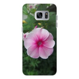 """Чехол для Samsung Galaxy S7 Edge, объёмная печать """"Цветущая долина"""" - лето, алтай, горный алтай, цветущая долина, долина цветов"""