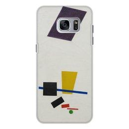 """Чехол для Samsung Galaxy S7 Edge, объёмная печать """"Супрематизм. Живописный реализм футболиста"""" - футбол, картина, живопись, супрематизм, малевич"""