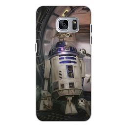 """Чехол для Samsung Galaxy S7 Edge, объёмная печать """"Звездные войны - R2-D2"""" - кино, фантастика, star wars, звездные войны, дарт вейдер"""