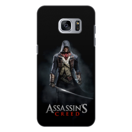"Чехол для Samsung Galaxy S7 Edge, объёмная печать ""Assassins Creed (Unity Arno)"" - assassins creed, игра, воин, unity arno, арно"