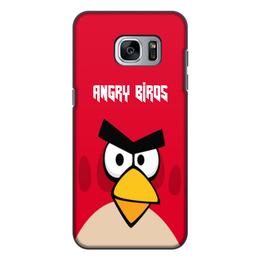"""Чехол для Samsung Galaxy S7 Edge, объёмная печать """"Angry Birds (Terence)"""" - terence, злые птички, angry birds, мультфильм, компьютерная игра"""