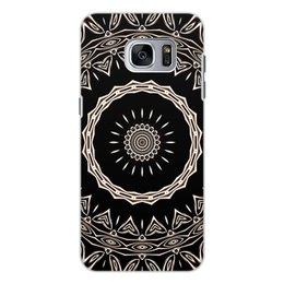 """Чехол для Samsung Galaxy S7 Edge, объёмная печать """"Барабан"""" - музыка, черный, подарок, женщине, мужчине"""