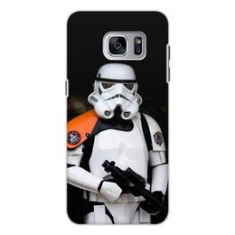 """Чехол для Samsung Galaxy S7 Edge, объёмная печать """"Звёздные войны"""" - кино, star wars, звёздные войны"""