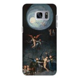 """Чехол для Samsung Galaxy S7 Edge, объёмная печать """"Блаженные и проклятые (Восхождение в эмпирей)"""" - картина, живопись, босх"""
