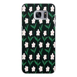 """Чехол для Samsung Galaxy S7 Edge, объёмная печать """"ромашки"""" - лето, цветы, весна, ромашки, цветочки"""