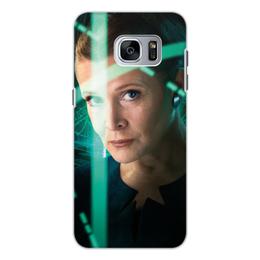 """Чехол для Samsung Galaxy S7 Edge, объёмная печать """"Звездные войны - Лея"""" - кино, фантастика, star wars, звездные войны, дарт вейдер"""