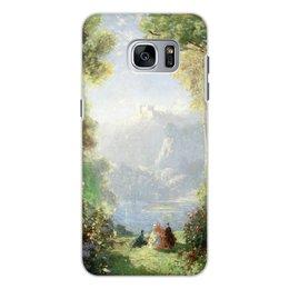 "Чехол для Samsung Galaxy S7 Edge, объёмная печать ""Дворец грёз (Томас Эдвин Мостин)"" - картина, живопись, мостин, романтизм"