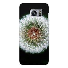 """Чехол для Samsung Galaxy S7 Edge, объёмная печать """"Лето!"""" - лето, цветы, фрукты, жара, одуванчик"""