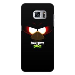 "Чехол для Samsung Galaxy S7 Edge, объёмная печать ""Space (Angry Birds)"" - space, игра, мультфильм, птица, angry birds"
