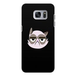 """Чехол для Samsung Galaxy S7 Edge, объёмная печать """" Котенок"""" - кот, животные, котенок, коты, мемы"""